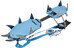 Camp Stalker Semi-Automatic Crampon blue